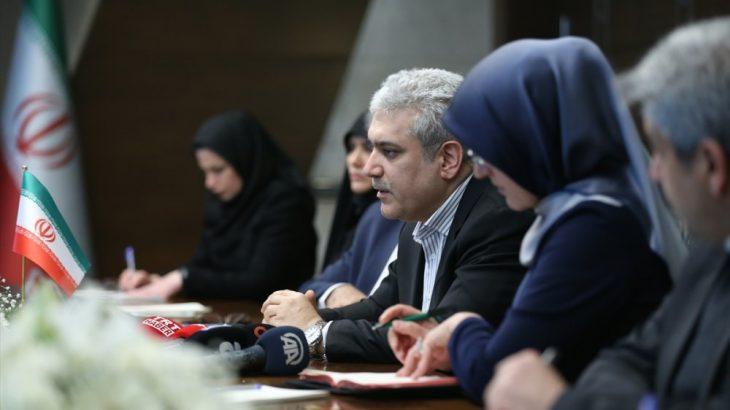 İran Cumhurbaşkanı Yardımcısı Sattari YÖK'ü ziyaret etti