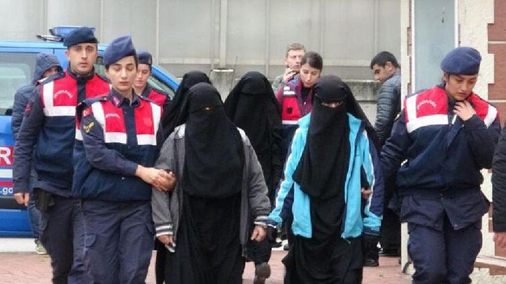 IŞİD'den yakalanan, aralarında'emir'in eşi de olan 4 kadın serbest