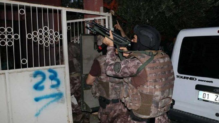 Adana'da sabaha karşı IŞİD operasyonları: Çok sayıda gözaltı