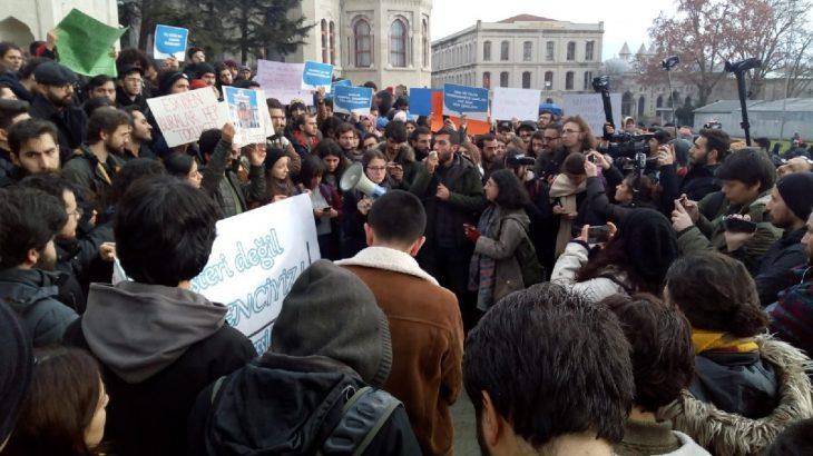 İstanbul Üniversitesi öğrencileri: Kararlıyız, hakkımızı alacağız!