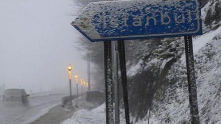 İstanbul'da kar başladı... AKOM'dan uyarı geldi!