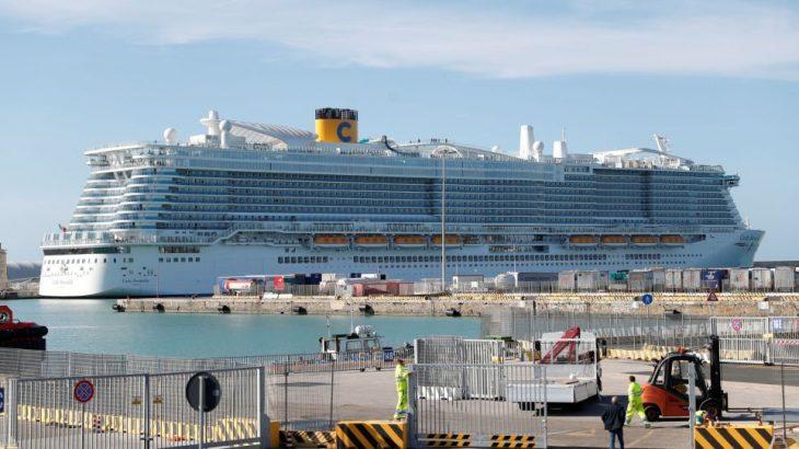 6 bin kişilik cruise gemisine koronavirüs karantinası