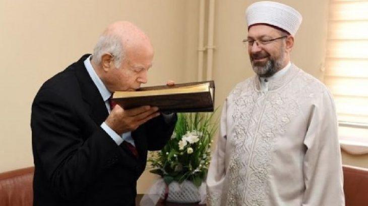 İzzettin Doğan'a Diyanet Başkanından ziyaret: Bundan sonra dostumdur