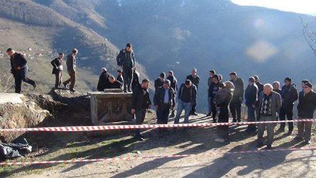 Bulancak'ta taş ocağına karşı eylem