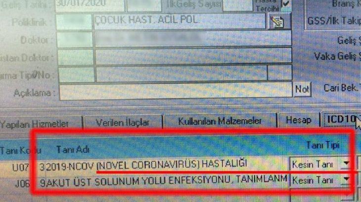 'Virüs İstanbul'da' iddiası: Raporu paylaştı