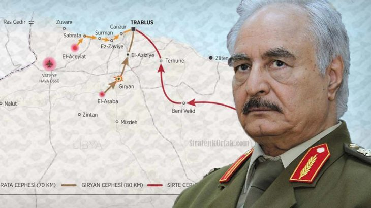 General Hafter 'cihat' ilan etti