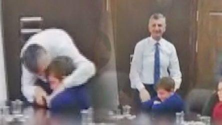 VİDEO | Valiye 11 yaşındaki öğrenciden tepki: Beni siz ağlattınız