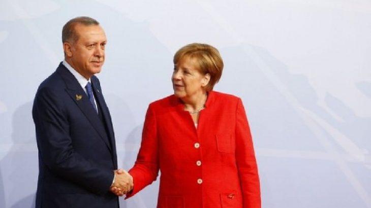 Merkel Erdoğan'ın davetiyle Türkiye'ye geliyor