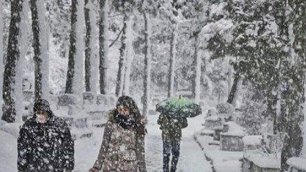 İstanbul'da cuma gününden itibaren 4 gün kar yağışı bekleniyor