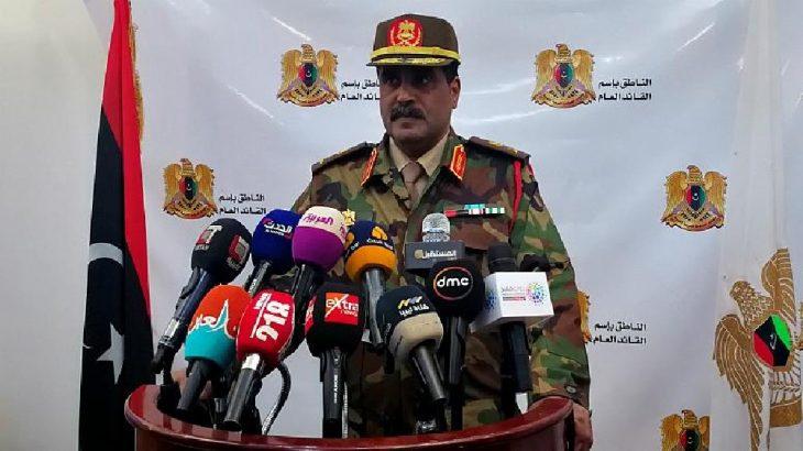 Libya Ulusal Ordusu, Trablus ve çevresini uçuşa yasak bölge ilan etti