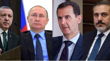 'Moskova'da Rus yetkililer eşliğinde Suriye-Türkiye görüşmesi: MİT Başkanı Fidan da katıldı'