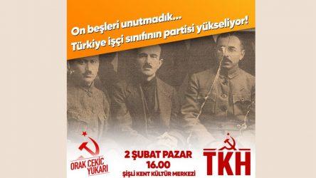 Komünistler 2 Şubat'ta yeni bir mücadele dönemini başlatıyor