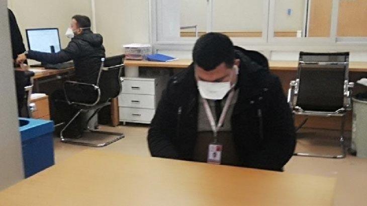 İstanbul'da devlet hastanesinde alarm: Çalışanlara maske dağıtıldı
