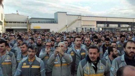 Oyak Renault'tan iş bırakan işçilere tehdit mesajı