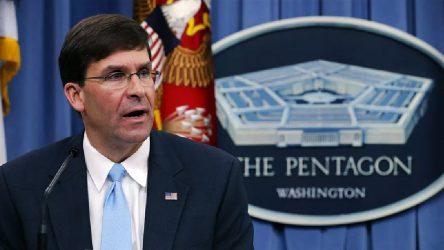 Pentagon'dan İran'a müzakere çağrısı