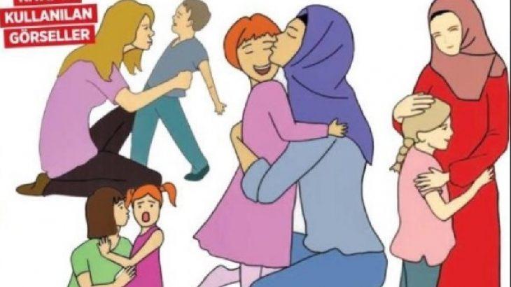 MEB bunu da yaptı: İstismarcıların başı açık, şefkat gösterenler türbanlı!