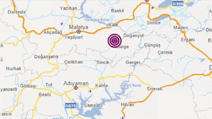 Malatya depremle uyandı
