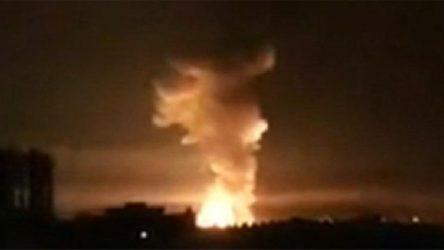 Bağdat'taki ABD Büyükelçiliği'nin bulunduğu Yeşil Bölge'de patlama sesleri