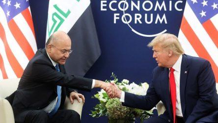 Salih ve Trump 'yabancı güçlerin varlığını' görüştü