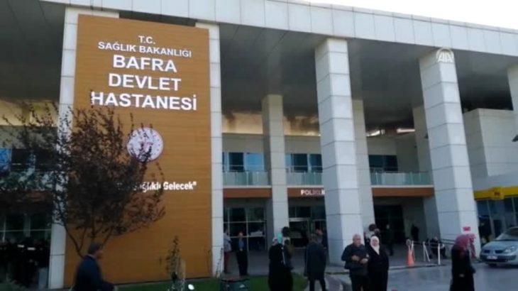 Samsun Bafra Devlet Hastanesi karantinaya alındı