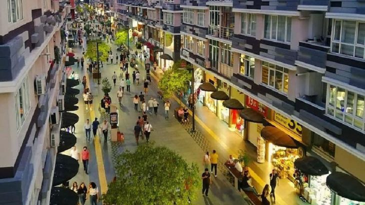 Samsun'da 25 milyon harcanarak kapatılan cadde araç trafiğine açılacak