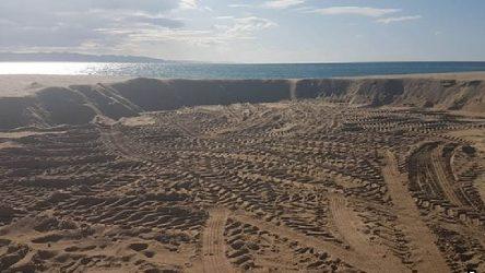 Saros Körfezi'nde SİT alanından alınan kumlar otel inşaatında kullanılmış