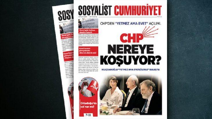 Sosyalist Cumhuriyet'te bu hafta: CHP nereye koşuyor?