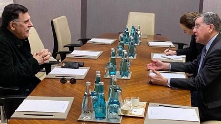 Yeniden İstanbul'a gelen Serrac, ABD Büyükelçisi ile görüştü