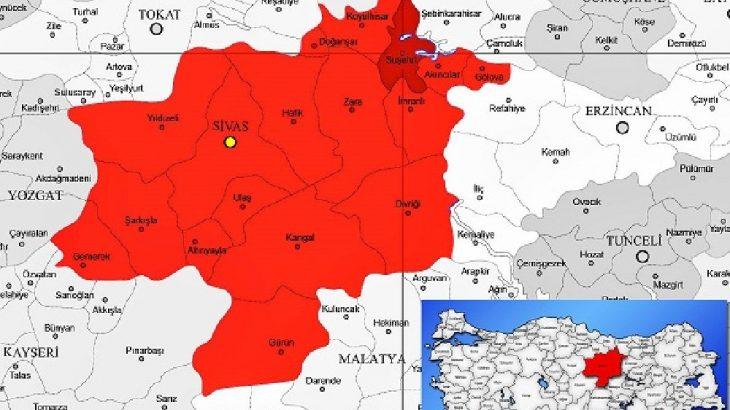 Sivas Suşehri merkezli deprem