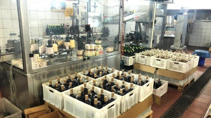 Şarap fabrikası'kaçak içki' iddiasıyla mühürlendi