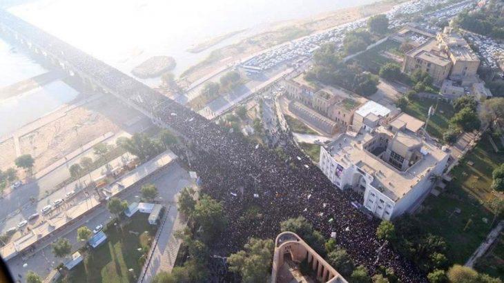Kasım Süleymani için Ahvaz'da cenaze töreni düzenlendi