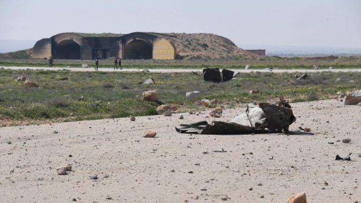 Suriye'deki T-4 hava üssüne füzeli saldırı