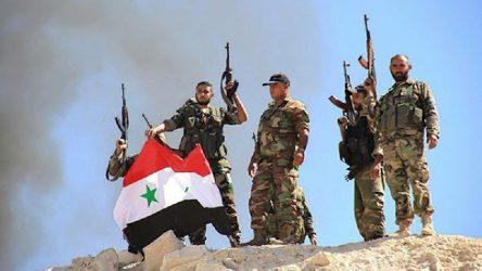 Suriye ordusu hava saldırısını püskürttü
