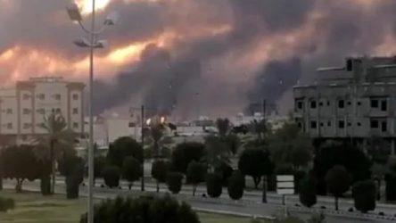 Suudi petrol tesisleri vuruldu