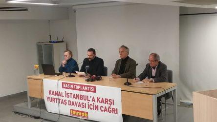 TMMOB'dan 'Kanal İstanbul' için dava çağrısı