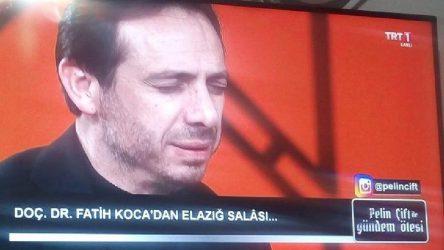 VİDEO | TRT'de deprem selası!