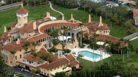 Trump'ın Florida'daki özel tatil tesisine bir arazi aracı girmeye çalıştı: Silah sesleri duyuldu