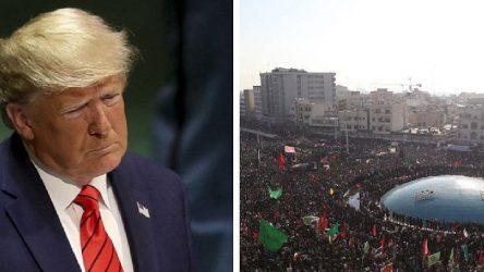İran'dan Trump'a: Daha önce böyle bir insan seli gördün mü?