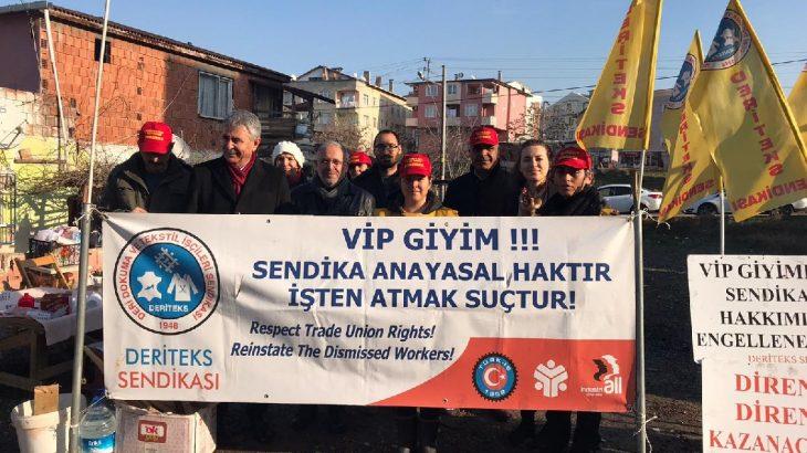 VİP Tekstil işçileri 58 gündür direnişte!