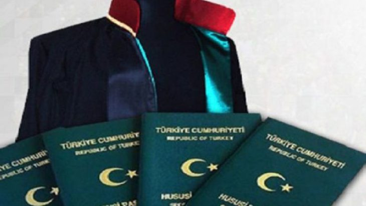 Avukatlara'yeşil pasaport' düzenlemesi Resmi Gazete'de