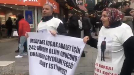 242 gündür ölüm orucunda olan Mustafa Koçak'ın ailesi gözaltına alındı