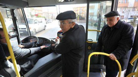 60-65 yaş üstüne ücretsiz ulaşımı kısıtlamanın 'formül'leri belli oldu!
