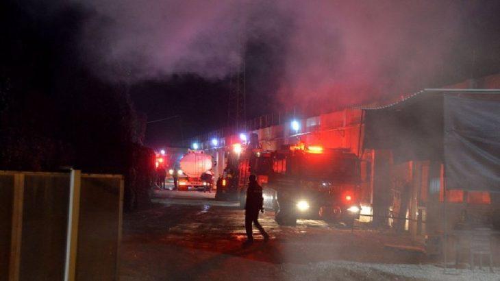 Adana Yüreğir'de pamuk yağı fabrikasında yangın!