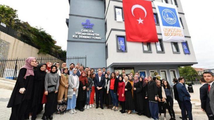 AKP'li Üsküdar Belediyesi'nden Ensar Vakfı'na bedelsiz yurt