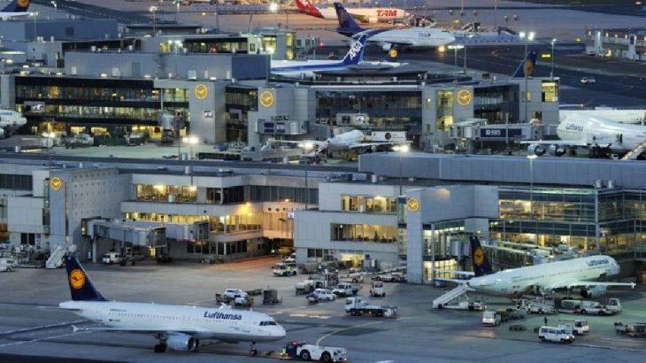 Almanya'da 350'den fazla uçuş iptal edildi