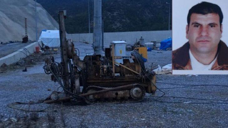 Antalya Gazipaşa'da iş cinayeti: Baraj inşaatında sondaj makinasına sıkışan işçi hayatını kaybetti