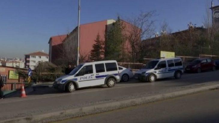 Ankara'da güvenlik görevlisi okul müdürünü vurup intihara kalkıştı