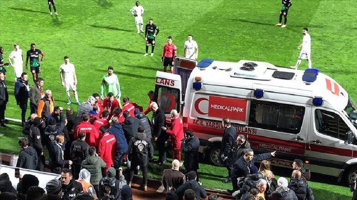 Süper Lig maçında ölüm