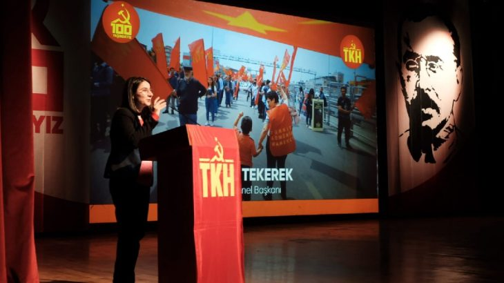 TKH Genel Başkanı Aysel Tekerek: Sosyalist soldaki büyük boşluk dolmalıdır