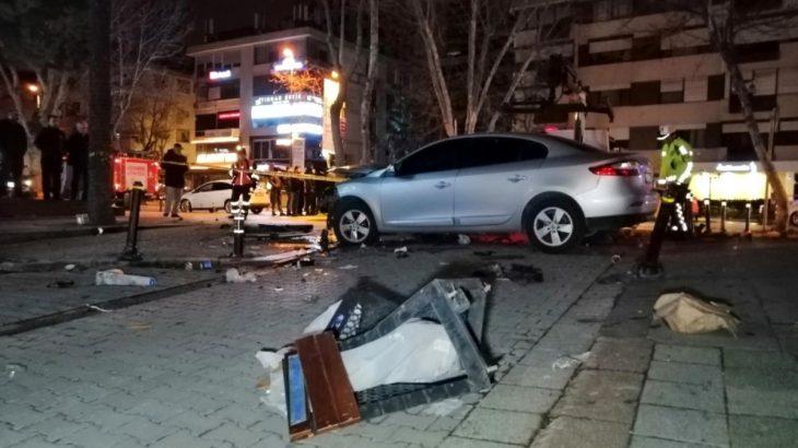 Bağdat Caddesi'ndeki kazada 1'i ağır 3 kişiyi yaralayan sürücü tutuklandı